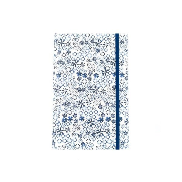 Bunzlau Castle notebook A6 Indigo Lace