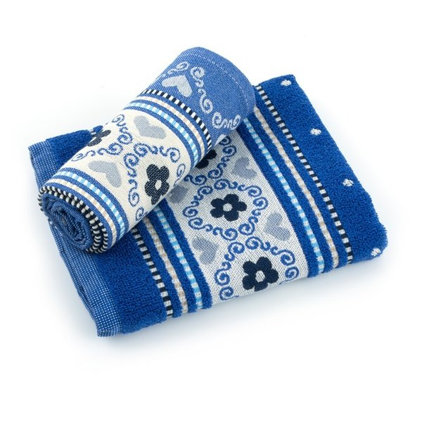 Bunzlau Castle handdoek Royal Blue